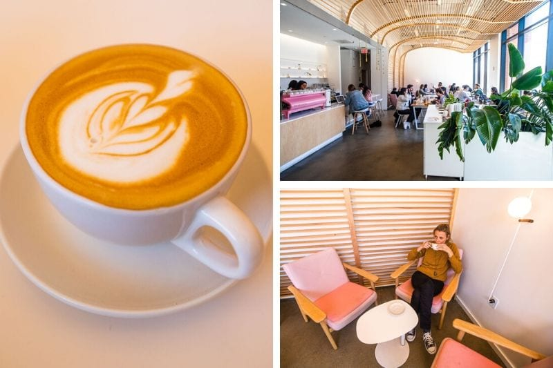 Heirloom Brewshop, one of the best coffee shops in downtown Raleigh