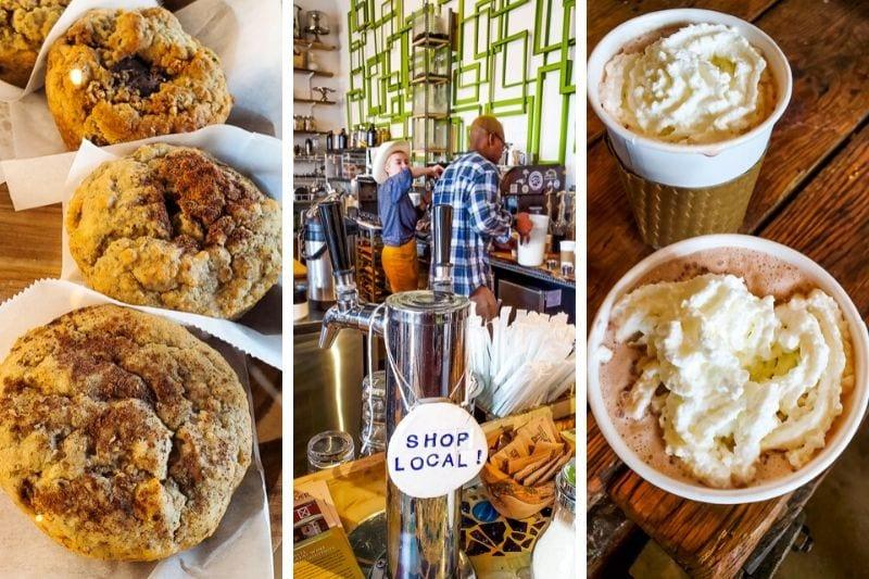 Lucky Tree coffee shop, Raleigh. NC
