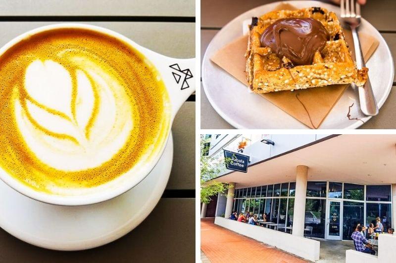 Jubala Coffee shop, Raleigh