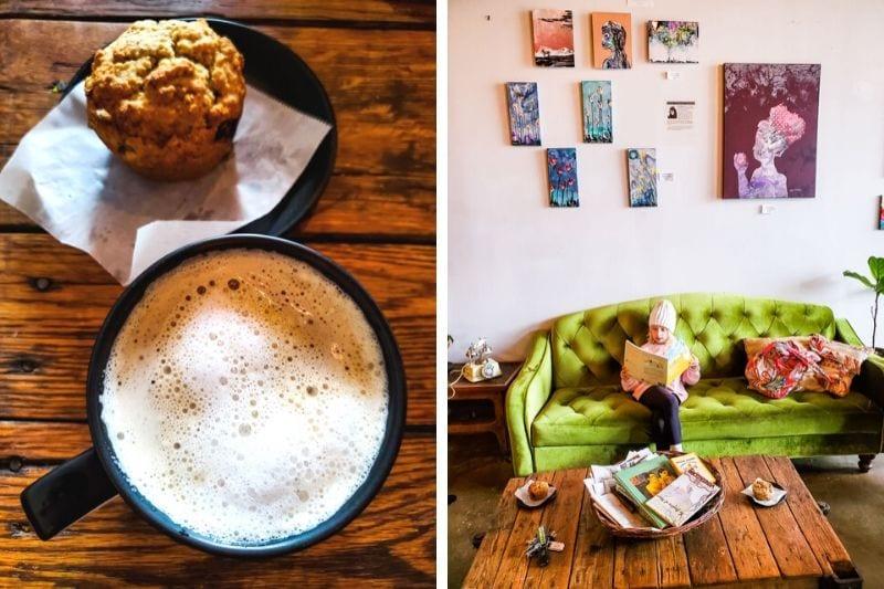 Lucky Tree coffee shop, Raleigh