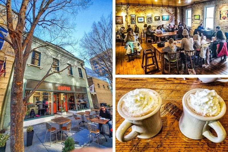 The Morning Times coffee shop, Raleigh, NC