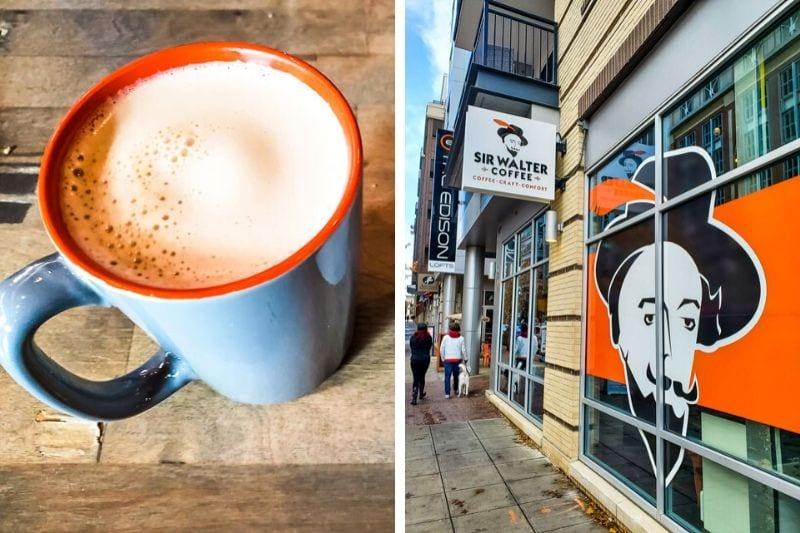 Sir Walter Coffee, downtown Raleigh