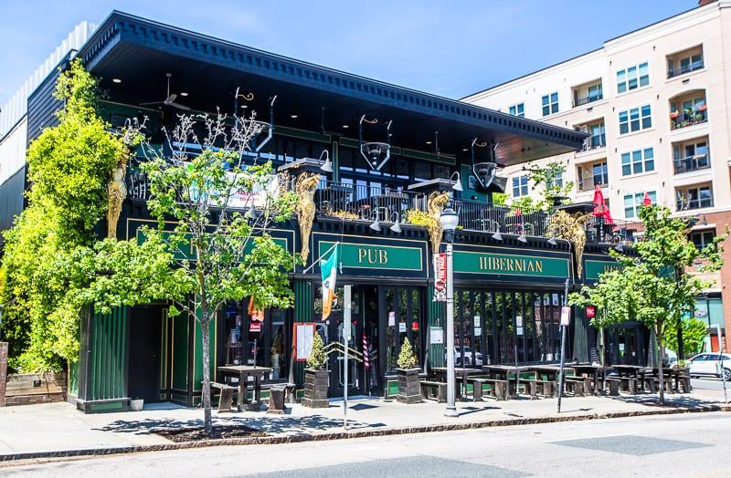 Hibernian Pub & Restaurant, Raleigh