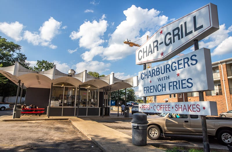 Char-Grill Burgers, Raleigh, NC
