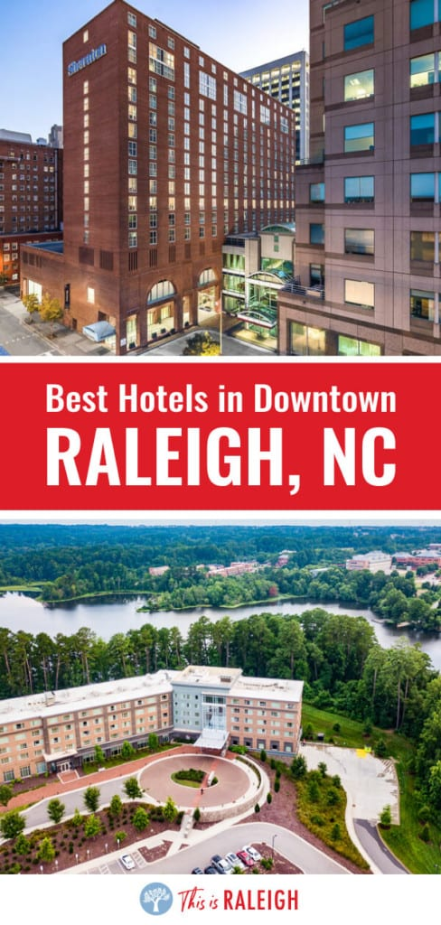 Looking for the best hotels in downtown Raleigh? Check out this list of the 7 best Raleigh hotels for when you visit Raleigh for business or pleasure!