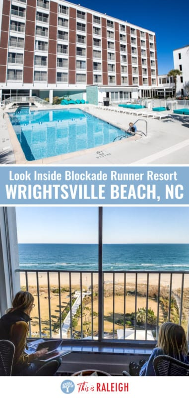 Looking for Wrightsville Beach accommodation. Check out this review of the Blockade Runner Beach Resort, one of the best places to to stay in Wrighstville Beach NC right on the ocean and perfect for your North Carolina beaches vacation!