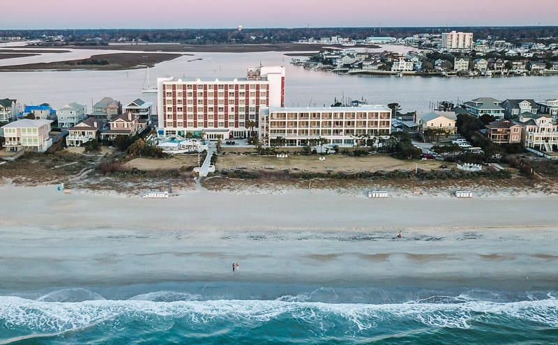 Blockade Runner Beach Resort on Wrightsville Beach