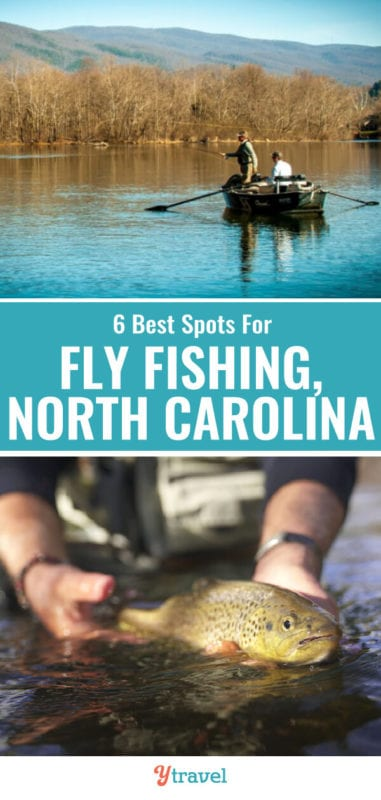 Looking for the best North Carolina fly fishing spots? Check out this list of the 6 best places for fly fishing North Carolina including tips on what flies to bring!