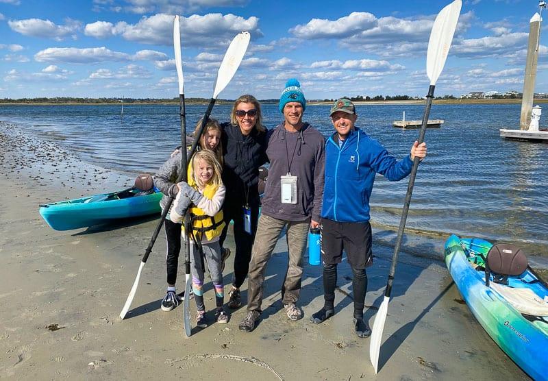 Kayaking in Wrightsville Beach. NC