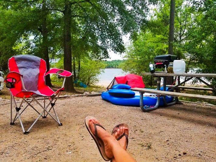 Kerr Lake camping