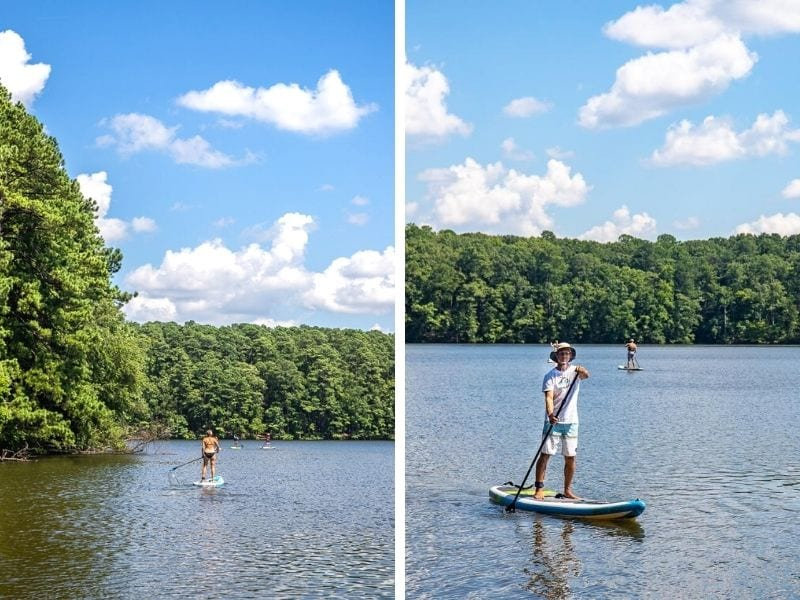 lake johnson recreation area raleigh nc