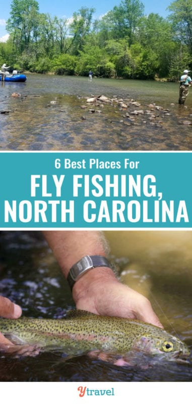 Looking for the best North Carolina fly fishing destinations? Check out this list of the 6 best places for fly fishing North Carolina including tips on what flies to bring!