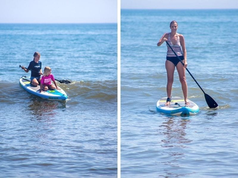 Stand up paddle boarding, Outer Banks, North Carolina