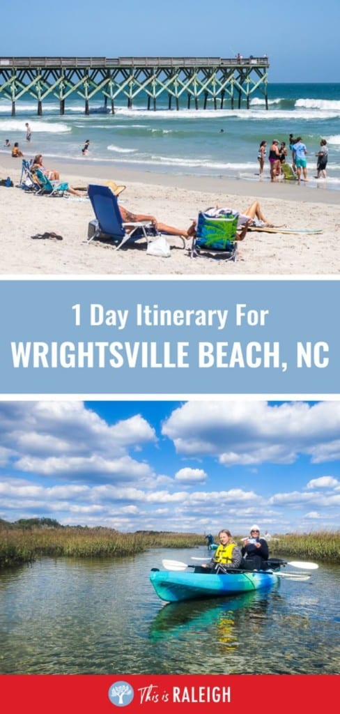 Planning to visit Wrightsville Beach, here is a 1 day itinerary on the best things to do in Wrightsville Beach including where to eat breakfast, lunch and dinner, where to park, what activities to do, and more. Don't visit North Carolina for your beach vacation before reading this.