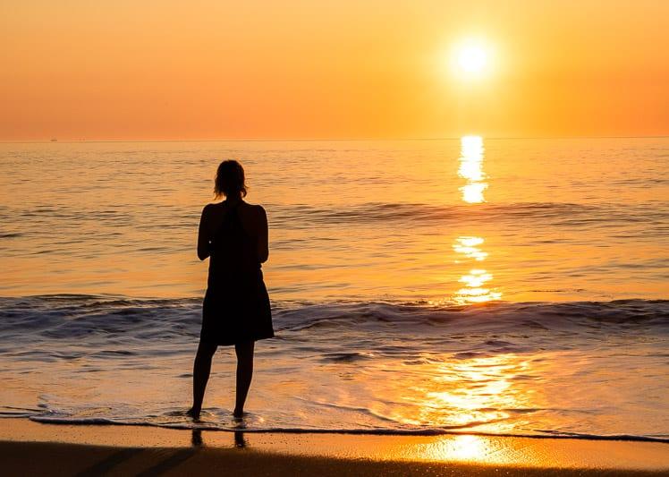 Sunrise at Kill Devil Hills Beach