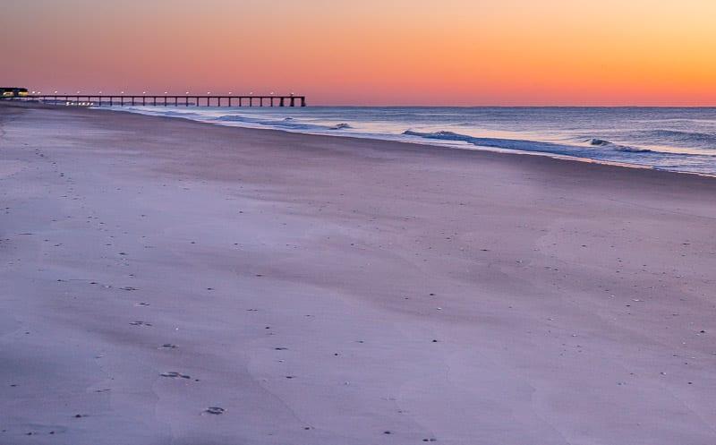Sunrise at Wrightsville Beach, North Carolina