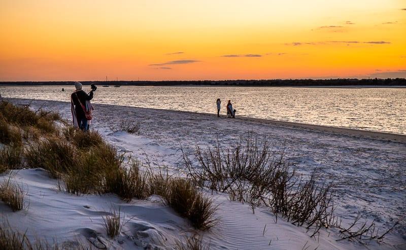 Sunset, Wrightsville Beach, NC