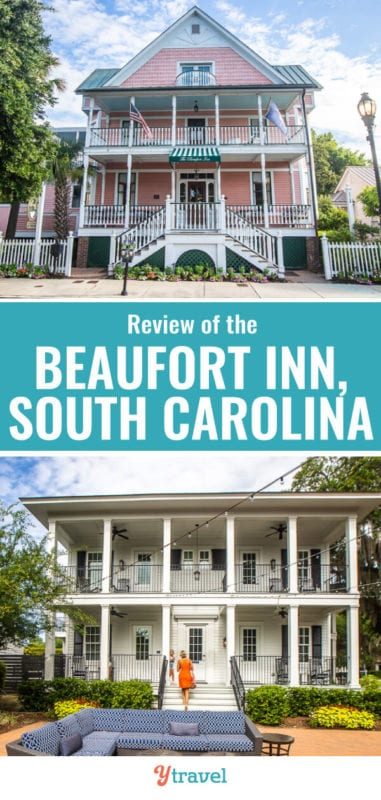 When you visit Beaufort South Carolina, one of the most historic and charming cities in the USA, stay somewhere that reflects all that charm and history. Check out this review of the Beaufort Inn SC