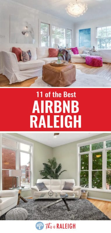 Are you researching Raleigh accommodation and considering Airbnb Raleigh properties? We've done the research for you. Check out this list of 11 Airbnb properties close to downtown Raleigh for all types of travelers. Don't visit Raleigh before checking out this list.