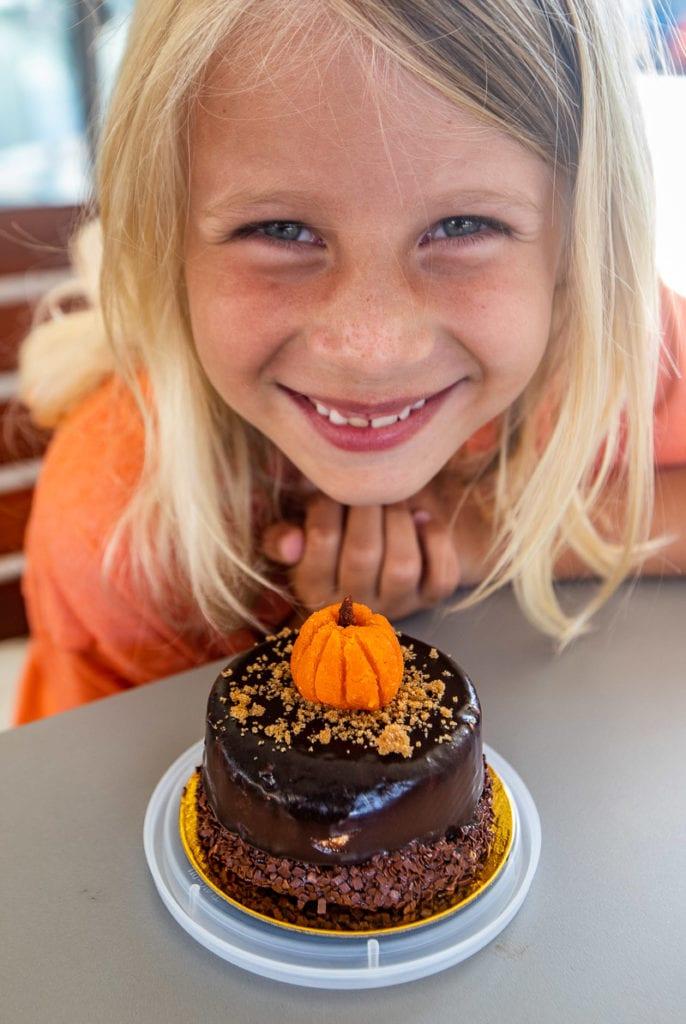Pumpkin cheesecake mousse, Asali Cafe