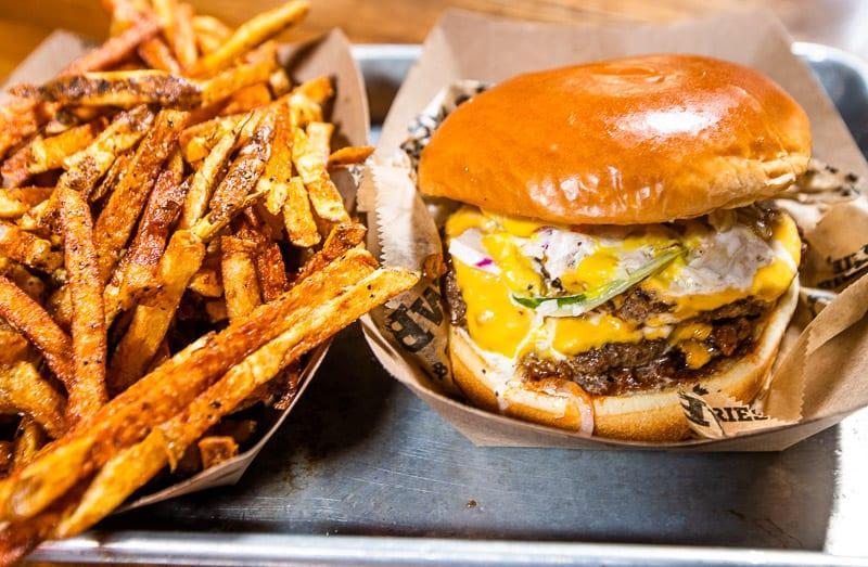 CowBar Burger at Morgan Street Food Hall