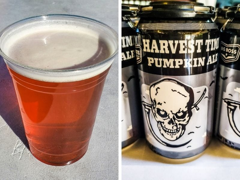 Harvest Time Pumpkin Ale, Big Boss Brewing!
