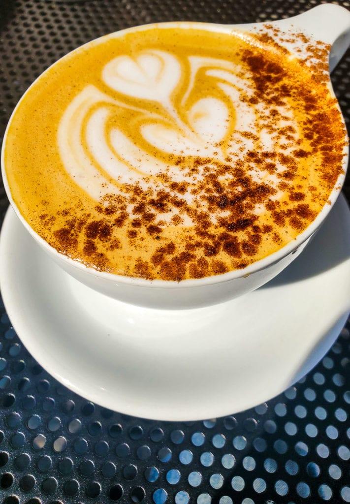 Pumpkin Spice Latte, Fount Coffee + Kitchen, Raleigh, NC