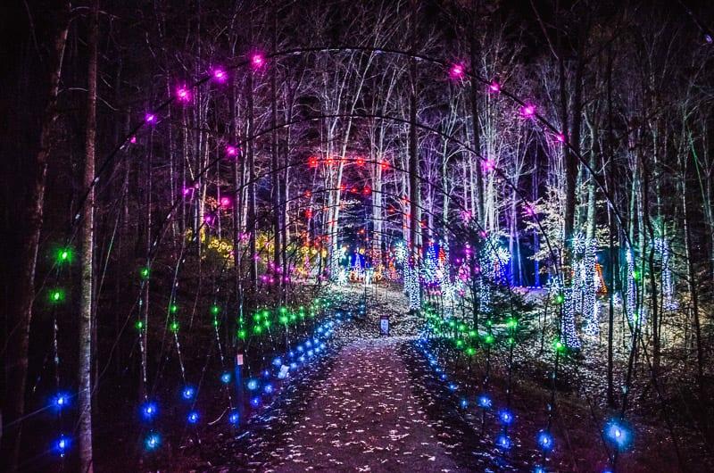 Illuminights at Explore Park