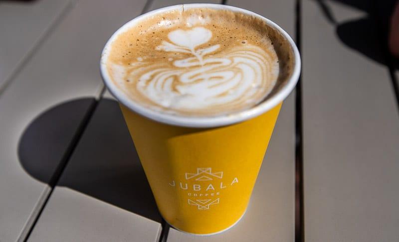 Pumpkin Spice Latte at Jubala Coffee