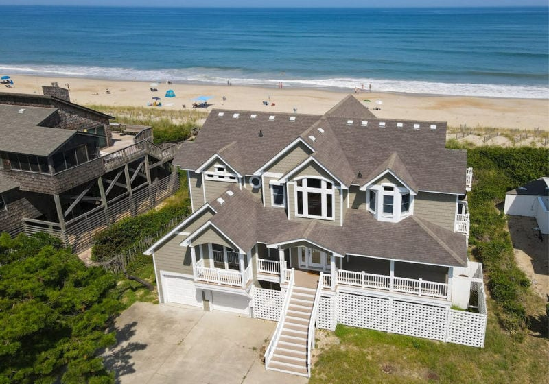 outer banks rental homes