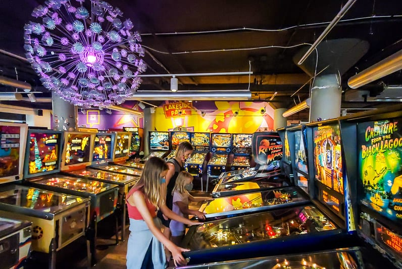 Pinball Museum, Roanoke