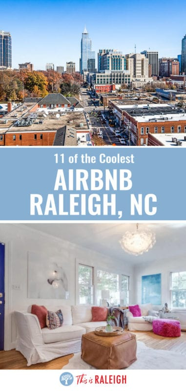 Looking for Raleigh accommodation and considering Airbnb Raleigh properties? We've done the research for you. Here is a this list of 11 Airbnb properties close to downtown Raleigh for all types of travelers. Don't visit Raleigh before seeing this list!