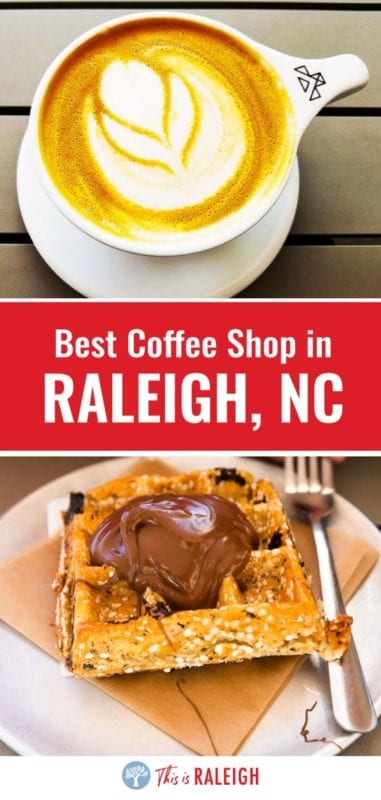 Looking for great Raleigh coffee shops? Jubala Coffee on Hillsborough St across from North Carolina State University is one of the best coffee shops downtown Raleigh - excellent coffee, food, and service! Don't visit Raleigh without grabbing a coffee at Jubala!