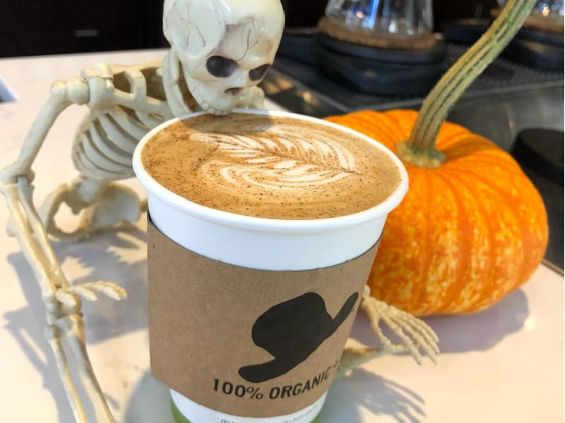 Pumpkin Spice Latte at 42 & Lawrence, Raleigh