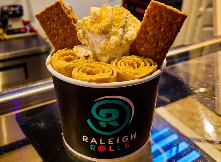 raleigh rolls nc