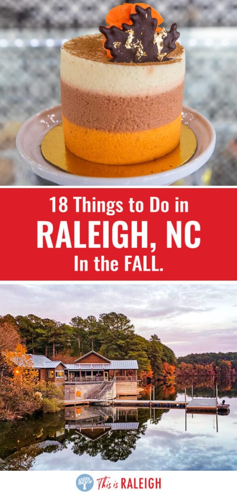 Looking for things to do in Raleigh in the fall? Before you visit Raleigh North Carolina, check out this list of the best fall foliage spots, events, seasonal drinks, pumpkin patches, places to eat, and much more!
