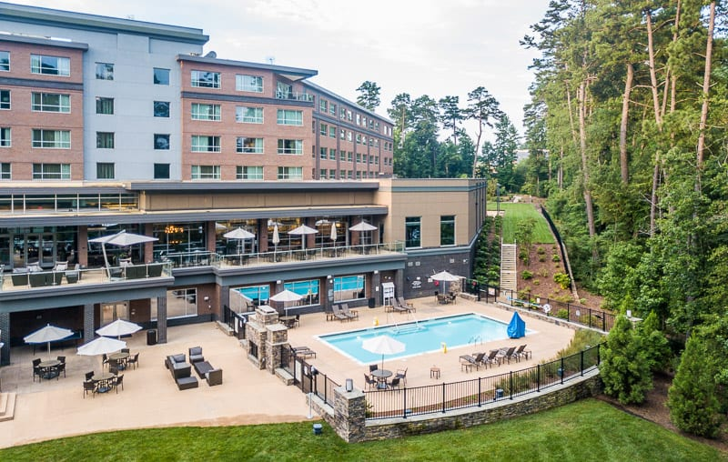 The StateView Hotel in Raleigh, NC