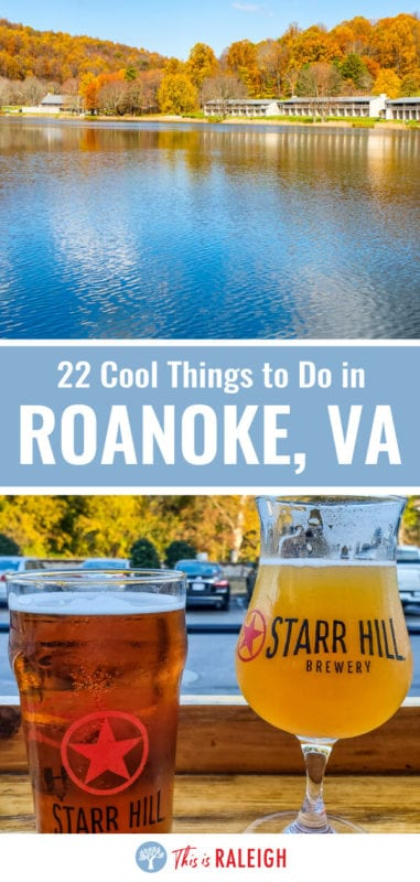 Planning to visit Roanoke? Check out this list of 22 things to do in Roanoke VA for your next Virginia road trip. Included are tips on attractions, places to eat in downtown Roanoke, driving the Blue Ridge Parkway and much more. Don't visit Vorginia without considering Roanoke.