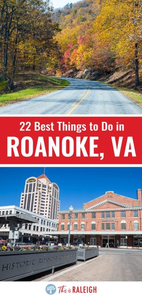Planning a trip to Roanoke? Here is a this list of 22 things to do in Roanoke VA for your next Virginia road trip. Included are tips on attractions, places to eat in downtown Roanoke, driving the Blue Ridge Parkway and much more. Don't visit Vorginia without considering Roanoke.