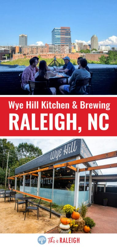When you visit Raleigh, don't miss Wye Hill Kitchen & Brewing for great food and drinks. Definitely one of the best Raleigh breweries and Raleigh restaurants in downtown Raleigh NC!