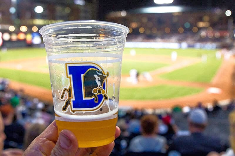 Durham Bulls games are a fun night out