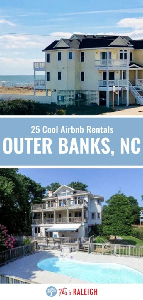 If you're planning an Outer Banks vacation and looking for great Airbnb Outer Banks rentals, check out this list of 25 cool Airbnb rentals in the OBX. Don't visit the Outer Banks or book your trip before considering one of these OBX vacation rentals.