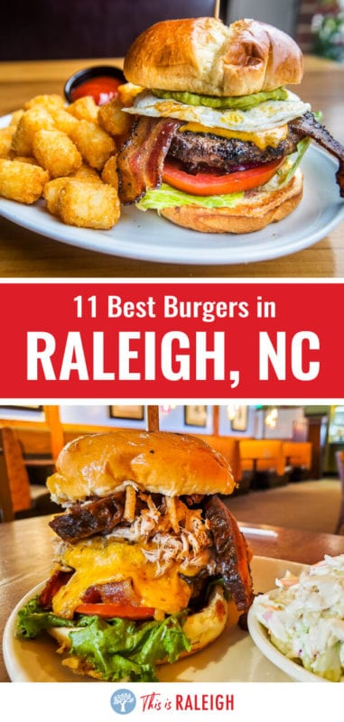 Looking for the best burgers in Raleigh? We've done the research for you and taste tested our way around our home city. Check out this list of 11 awesome Raleigh restaurants serving up incredible burgers!