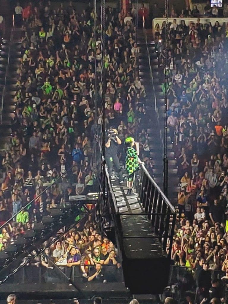 Billie Eilish concert at PNC Arena