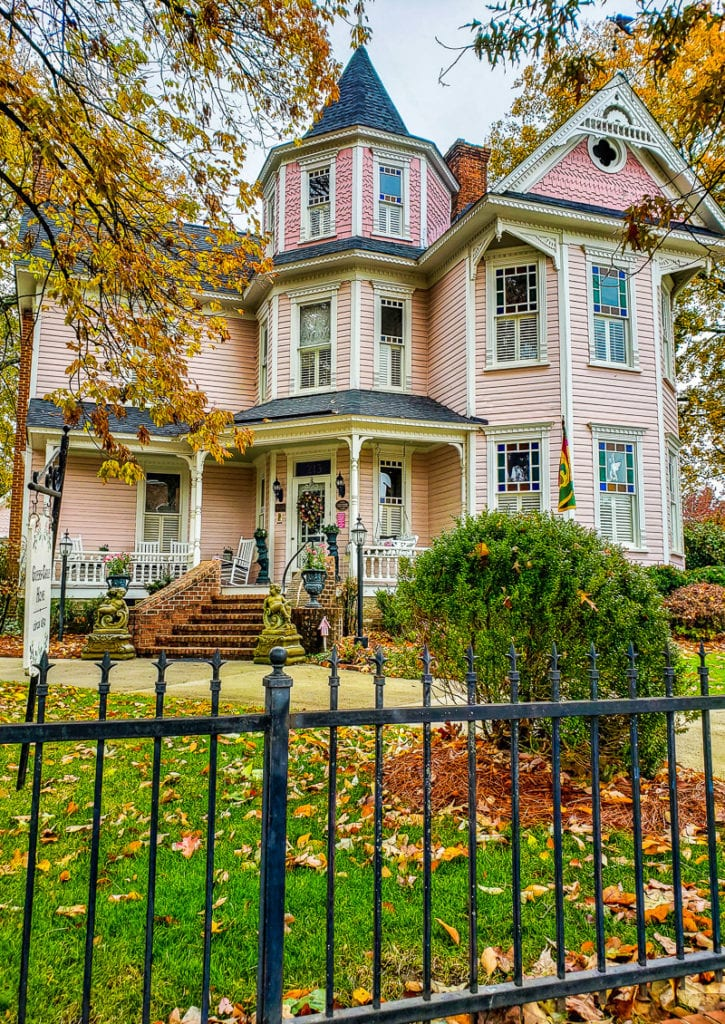 Queen Anne–style home in downtown Cary, North Carolina