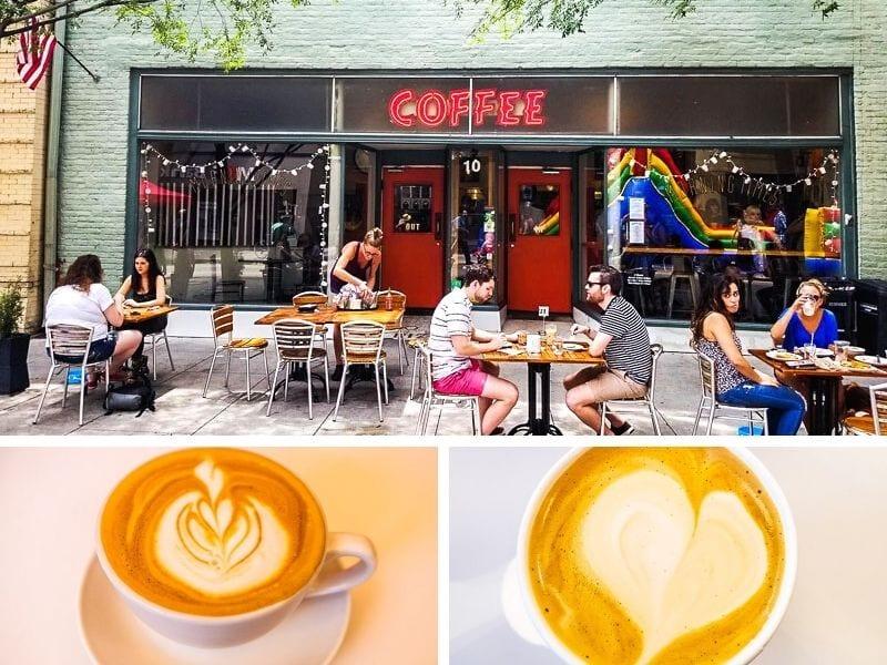 Coffee shops Raleigh