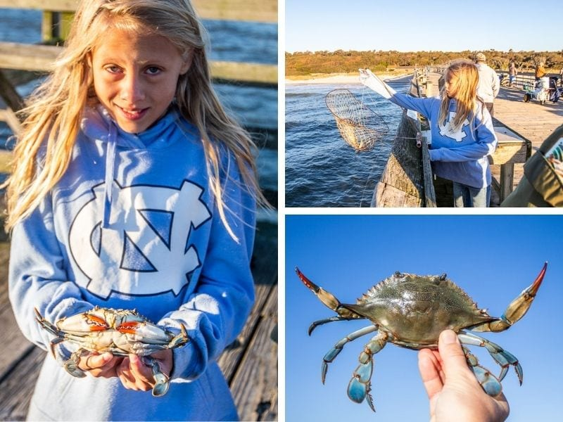 We had so much fun crabbing