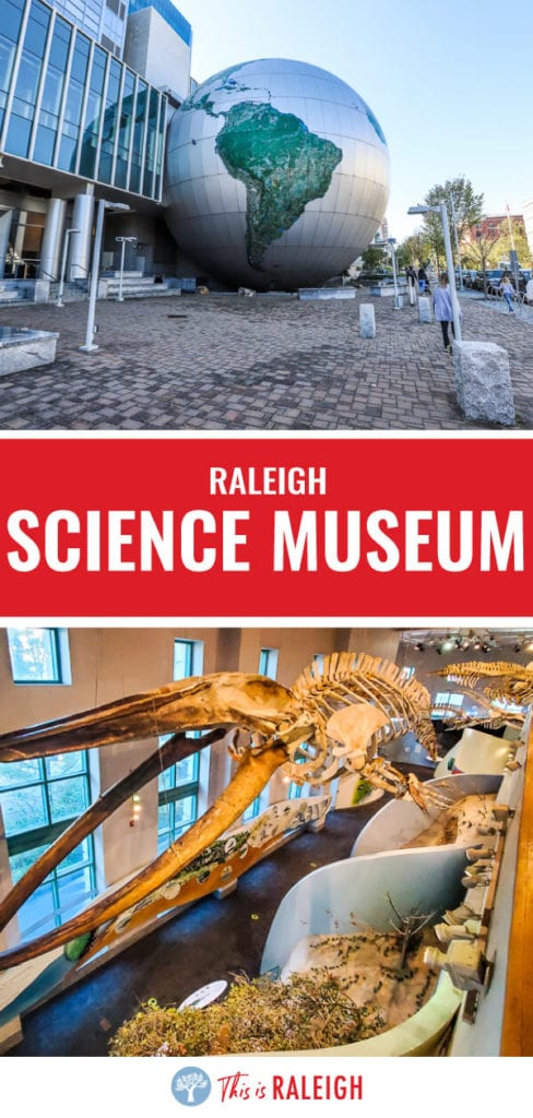 Planning to visit Raleigh? Don't miss the North Carolina Museum of Natural Sciences. It's the most visited of the North Carolina museums and the best of Raleigh musums. It's FREE to enter and over 4 levels of amazing exhibits with something here for everyone!