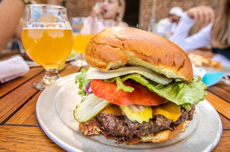 Raleigh Times Burger
