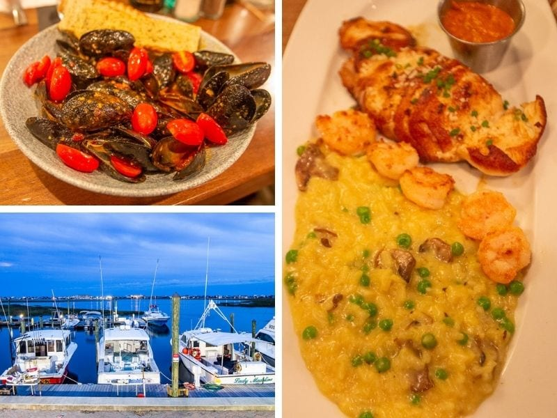 Wicked Tuna food and views